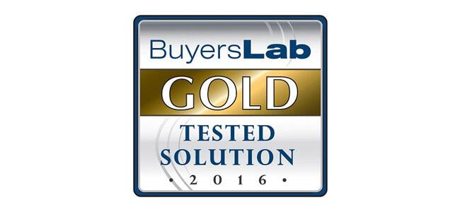 MPS Monitor es una Solución de Oro Comprobada por el Buyers Laboratory