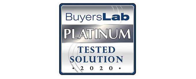 MPS Monitor 2.0 obtiene la Evaluación Platino del Buyers Laboratory