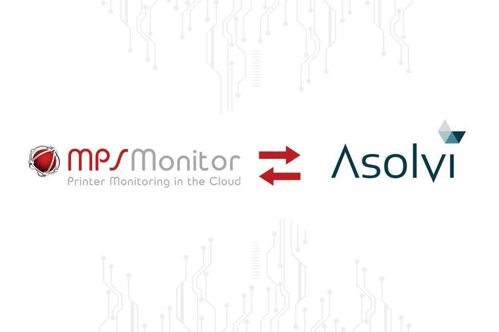 MPS Monitor annuncia l'integrazione  con le piattaforme ERP di Asolvi