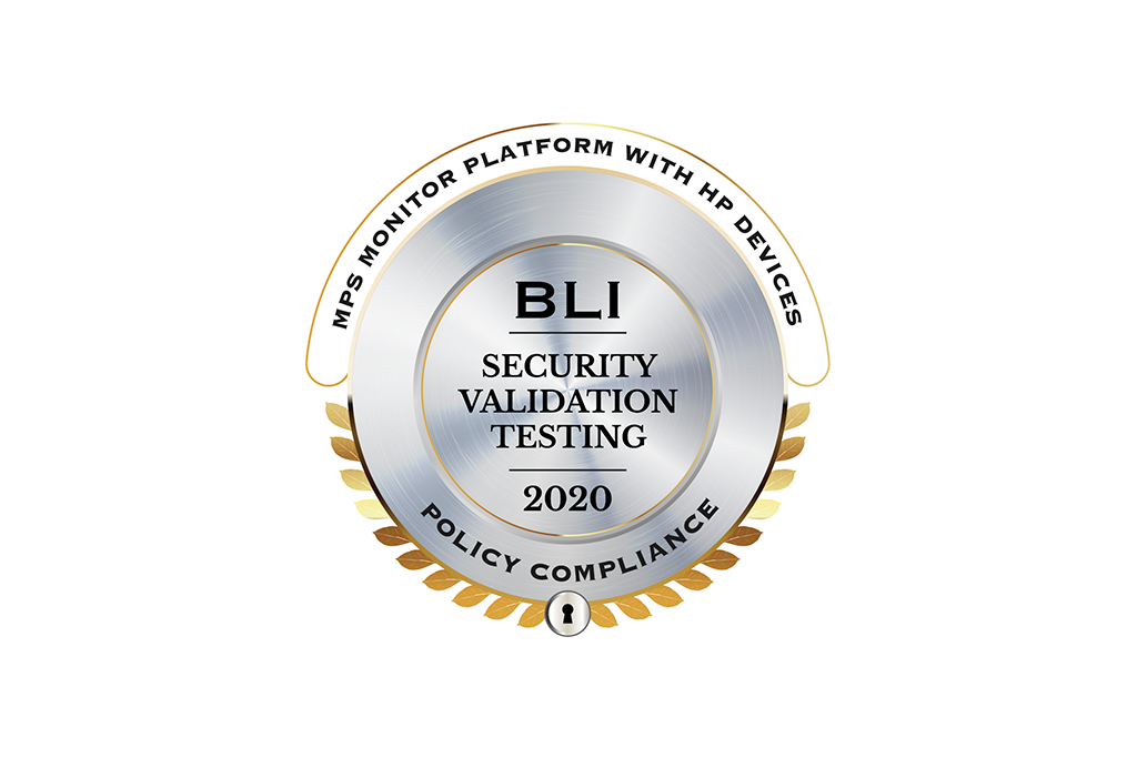 MPS Monitor 2.0 obtiene el sello BLI Security Validation Testing for Policy Compliance por parte del Keypoint Intelligence-Buyers Lab