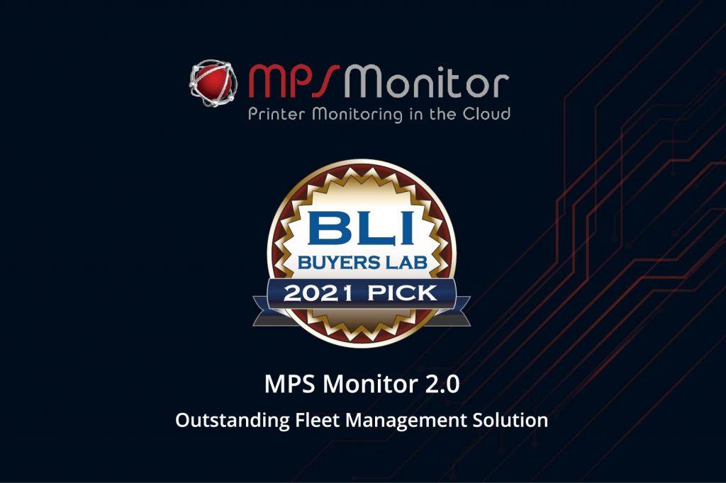 MPS Monitor 2.0 recibe por Keypoint Intelligence el BLI 2021 Pick Award for  Outstanding Fleet Management Solution