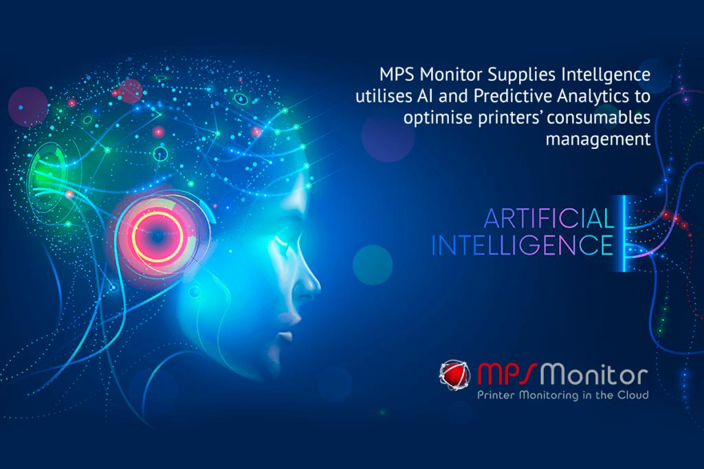 La inteligencia de suministros de MPS Monitor utiliza IA y Análisis Predictivo para optimizar la gestión de consumibles